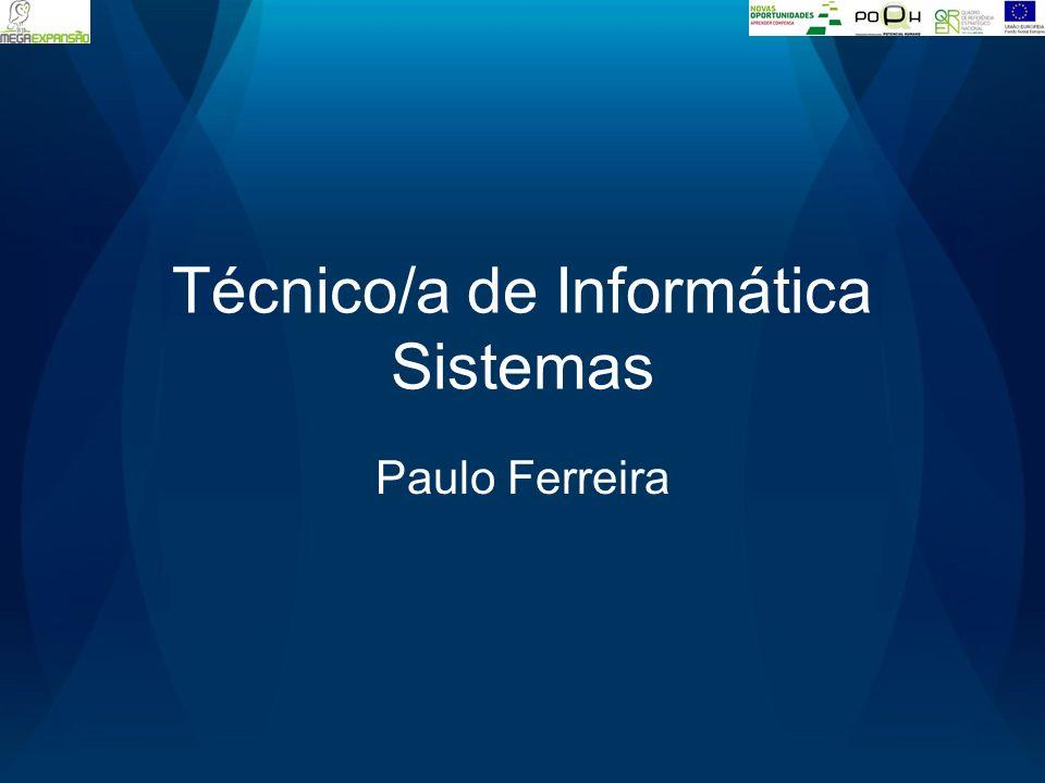 Técnico/a de Informática Sistemas Paulo Ferreira