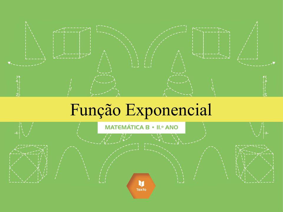 Funções exponenciais desempenham papéis fundamentais na Matemática e nas ciências envolvidas com ela, como: Física, Química, Engenharia, Astronomia, Economia, Biologia, Psicologia e outras.