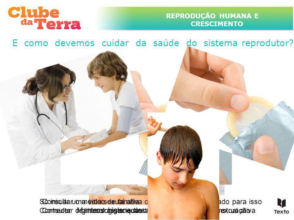 TÍTULO DO ASSUNTO A SER TRATADO NESTE POWERPOINT QUE TEM UM TÍTULO GRANDE REPRODUÇÃO HUMANA E CRESCIMENTO Manter a higiene dos órgãos sexuais Consulta