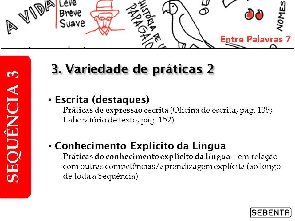 1.Conto Patrícia, de Altino do Tojal, pág.128 2.Conto Por um triz, de Arthur Conan Doyle, pág.