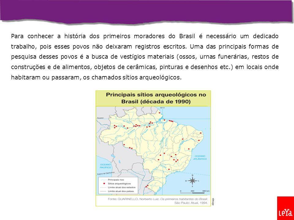 1500Hoje Os mapas acima comparam a população indígena brasileira em 1500 e na atualidade.