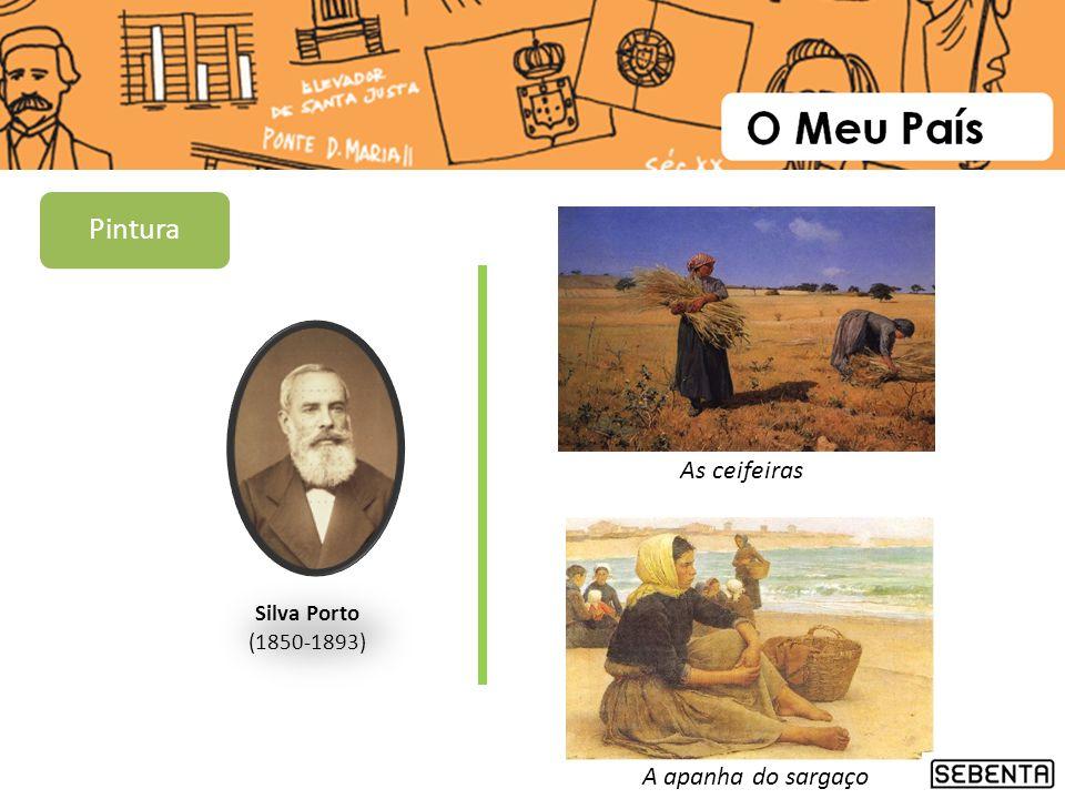 Silva Porto (1850-1893) As ceifeiras A apanha do sargaço Pintura