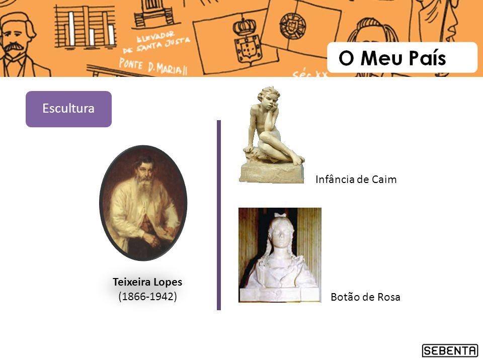 Teixeira Lopes (1866-1942) Botão de Rosa Infância de Caim Escultura