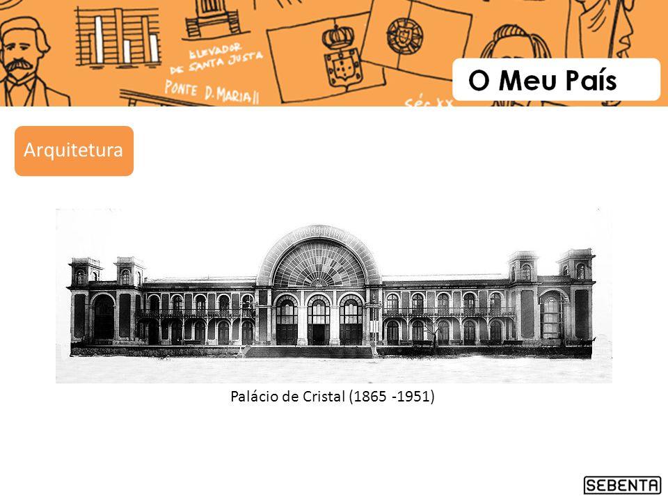 Palácio de Cristal (1865 -1951) Arquitetura