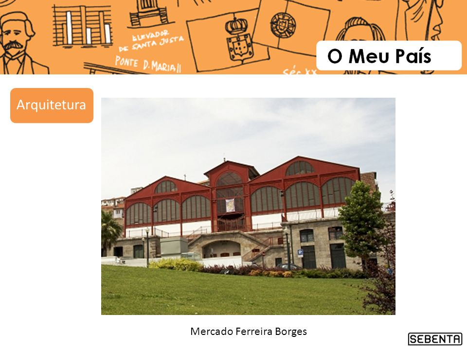 Mercado Ferreira Borges Arquitetura