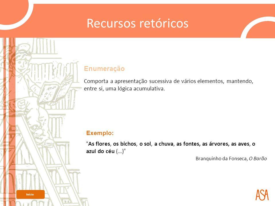 Metáfora Recurso retórico que estabelece uma relação de equivalência ou de analogia entre dois termos.