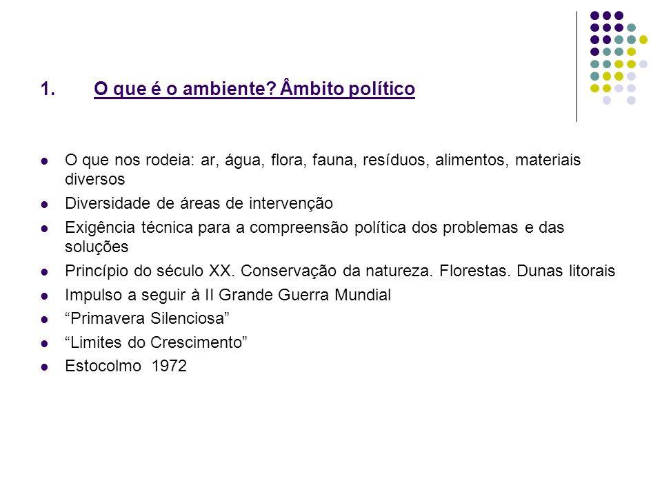 2.O QUE É A AGENDA XXI 1992.Rio de Janeiro.