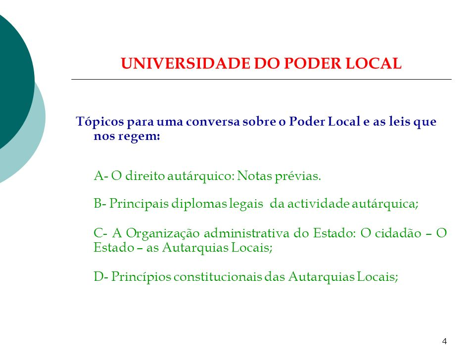 3 UNIVERSIDADE DO PODER LOCAL...