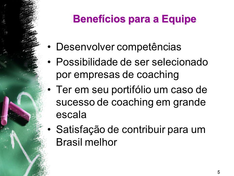 6 Estrutura Organizacional Investigação Apreciativa Coaching Individual Coaching de Equipe