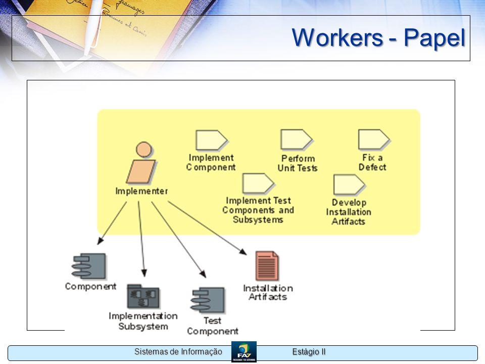 Estágio II Sistemas de Informação Workers - Papel