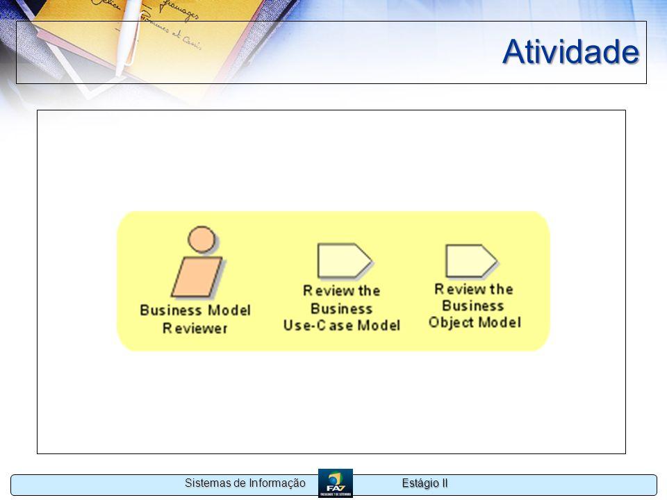 Estágio II Sistemas de Informação Atividade