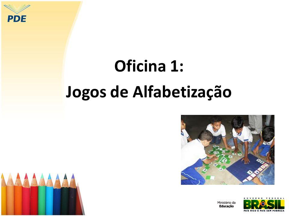 Objetivo Conhecer a importância do uso de jogos no processo de apropriação do Sistema de Escrita Alfabética (SEA), analisando jogos e planejando aulas em que os mesmos sejam incluídos como recurso didático.