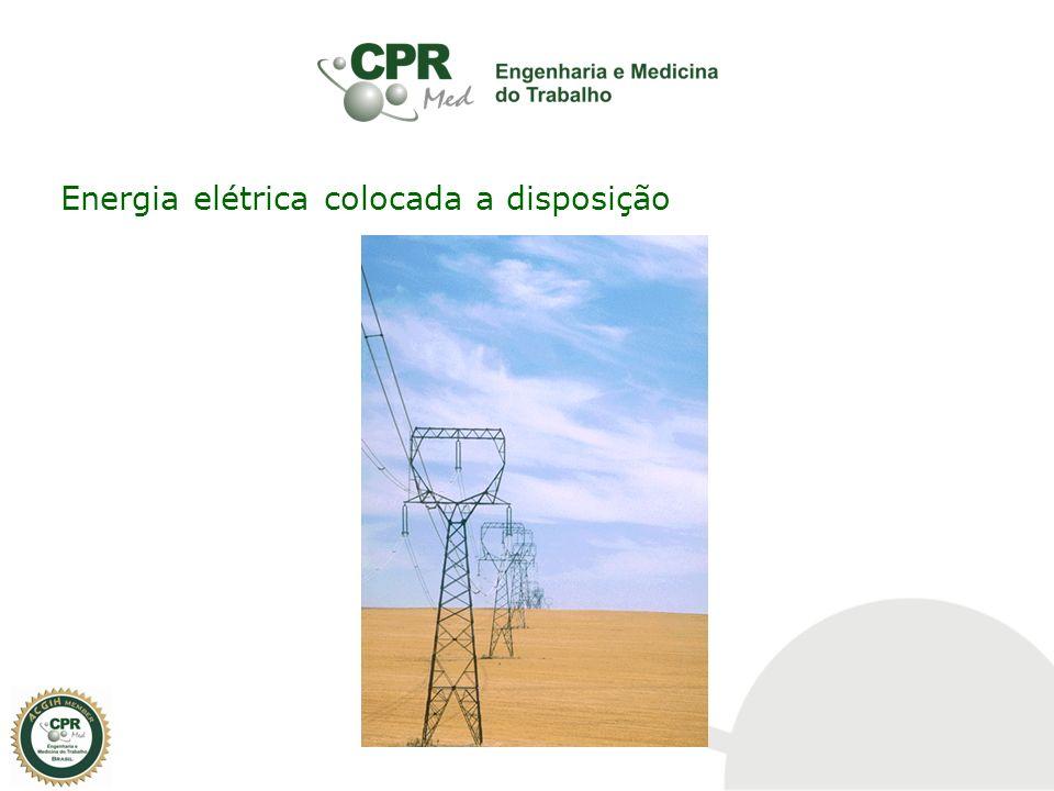 Energia elétrica - É trabalho realizado em um espaço de tempo.