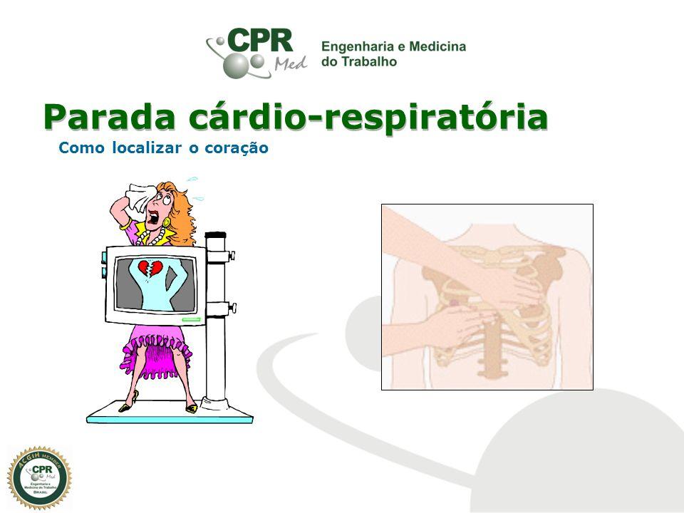 Parada cárdio-respiratória Como localizar o coração