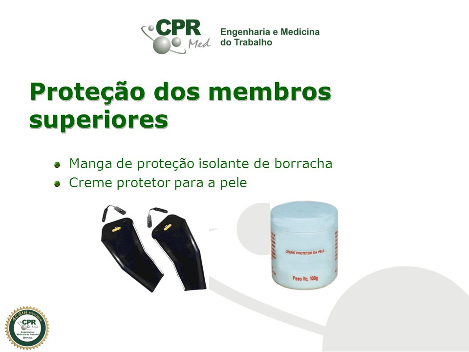 Proteção dos membros inferiores Calçado de proteção tipo botina de couro Calçado de proteção tipo bota de couro (cano médio) Calçado de proteção tipo bota de couro (cano longo)