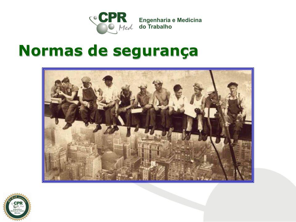 NR21 - Trabalho a Céu Aberto: Tipifica as medidas prevencionistas relacionadas com a prevenção de acidentes nas atividades desenvolvidas a céu aberto, tais como, em minas ao ar livre e em pedreiras.