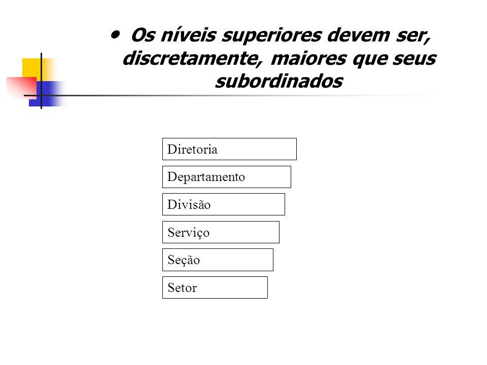 Nível dos Órgãos 1º nível – órgãos deliberativos 2º nível – órgãos executivos 3º nível – órgãos técnicos 4º nível – órgãos operacionais Deliberativos Executivos Operacionais Técnicos Operacionais