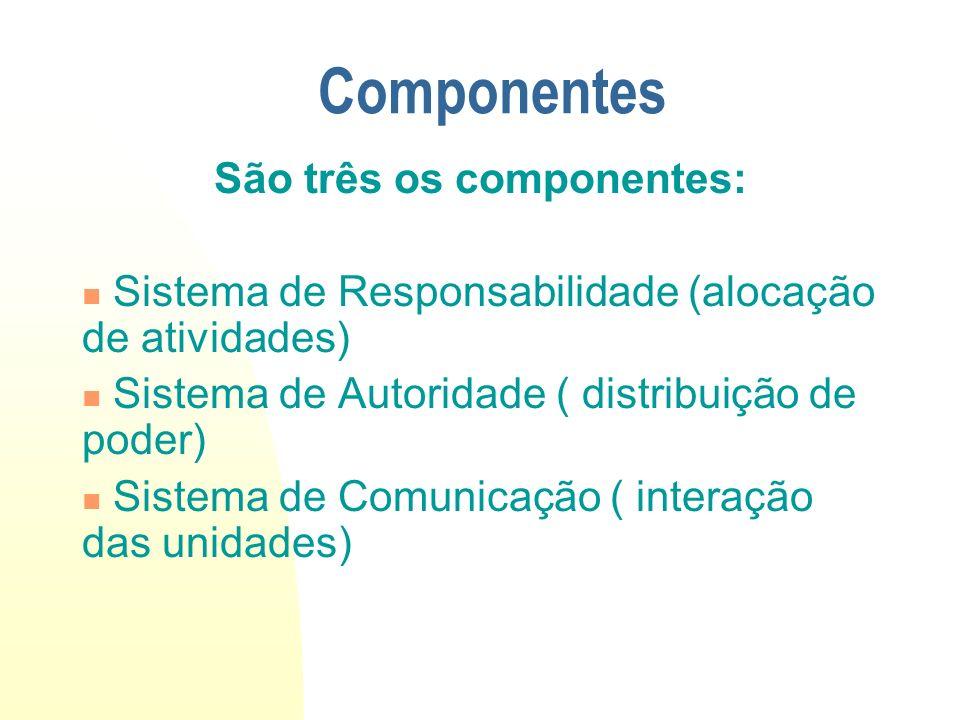 Sistema de Comunicação SUBSISTEMA Procedimentos Meios pelos quais se desenvolvem as atividades e a suas inter-relações.