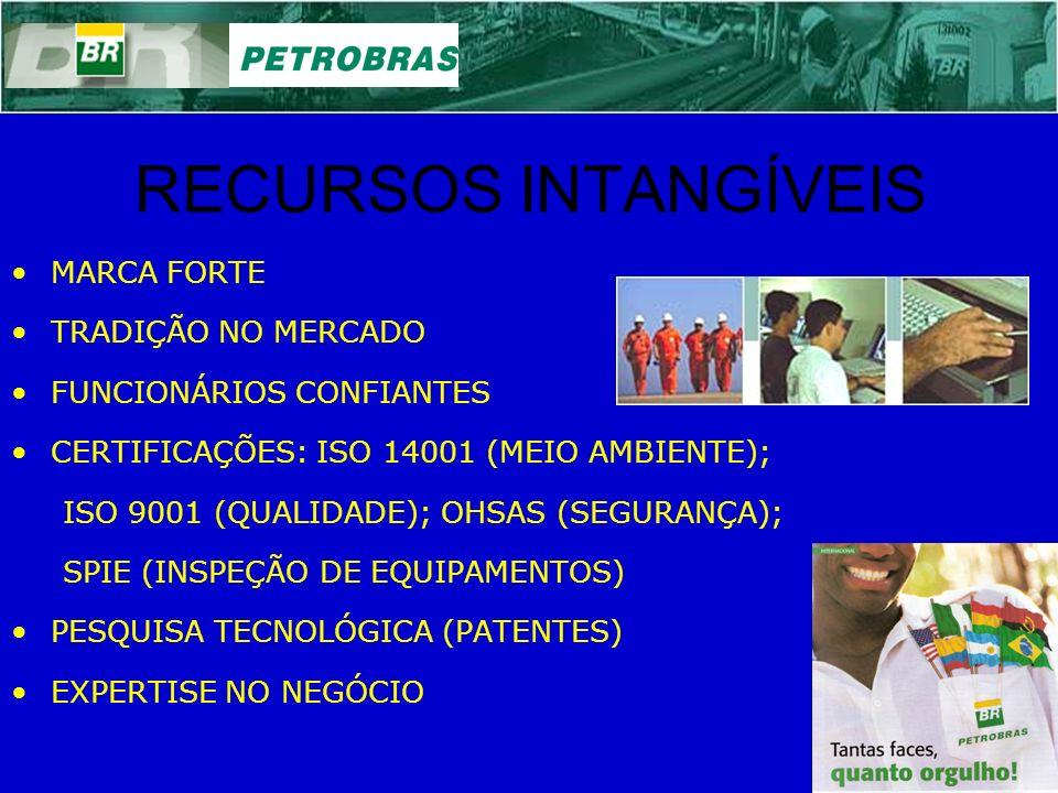 MARCA FORTE TRADIÇÃO NO MERCADO FUNCIONÁRIOS CONFIANTES CERTIFICAÇÕES: ISO 14001 (MEIO AMBIENTE); ISO 9001 (QUALIDADE); OHSAS (SEGURANÇA); SPIE (INSPE