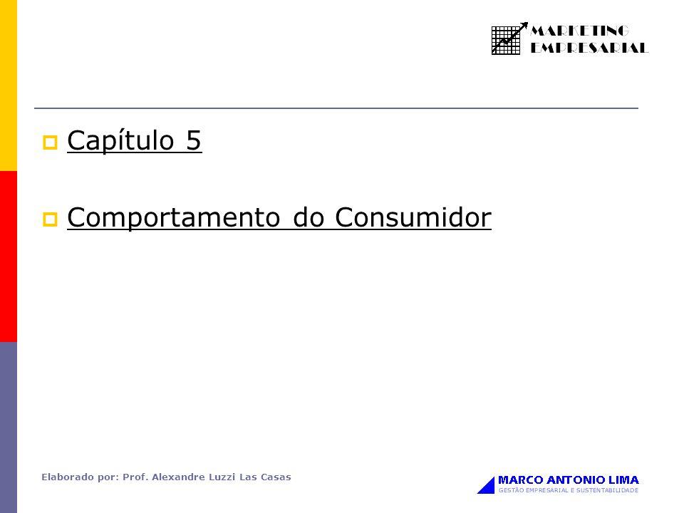 Elaborado por: Prof. Alexandre Luzzi Las Casas Capítulo 5 Comportamento do Consumidor