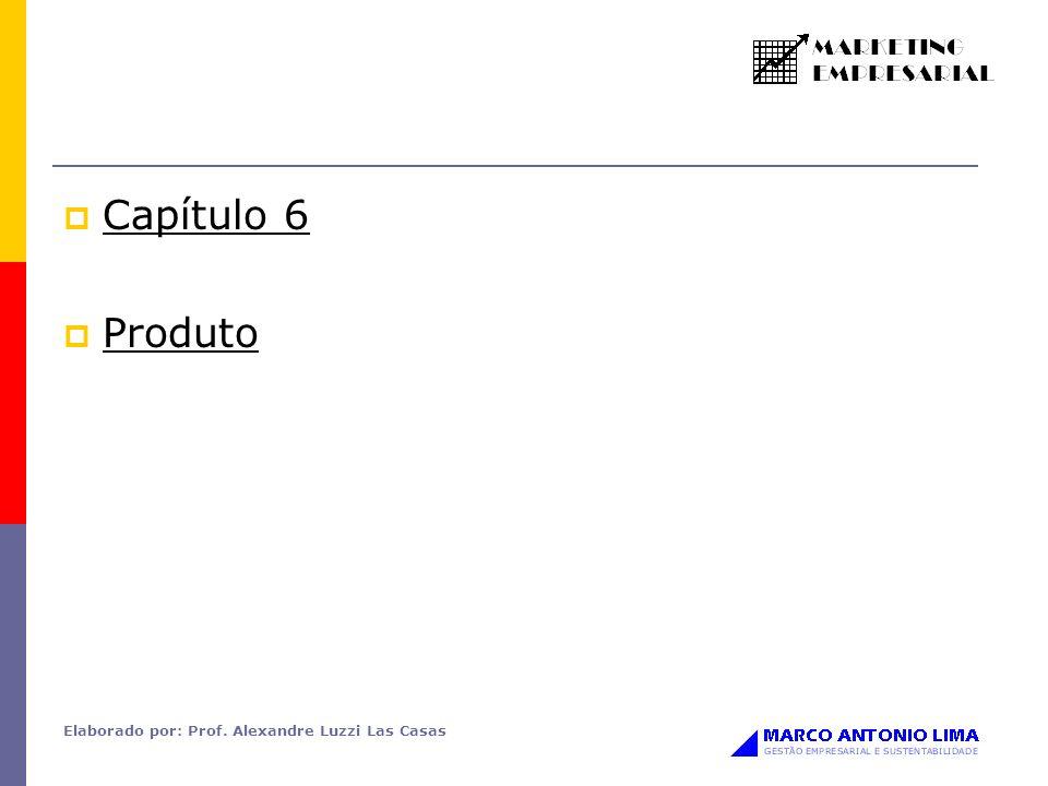 Elaborado por: Prof. Alexandre Luzzi Las Casas Capítulo 6 Produto