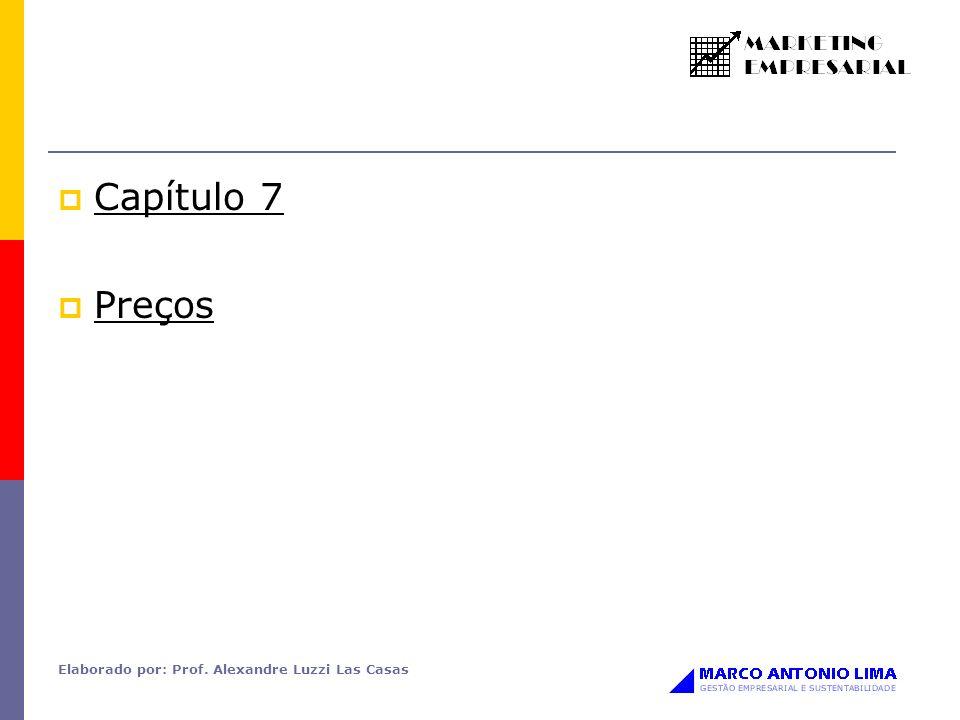 Elaborado por: Prof. Alexandre Luzzi Las Casas Capítulo 7 Preços