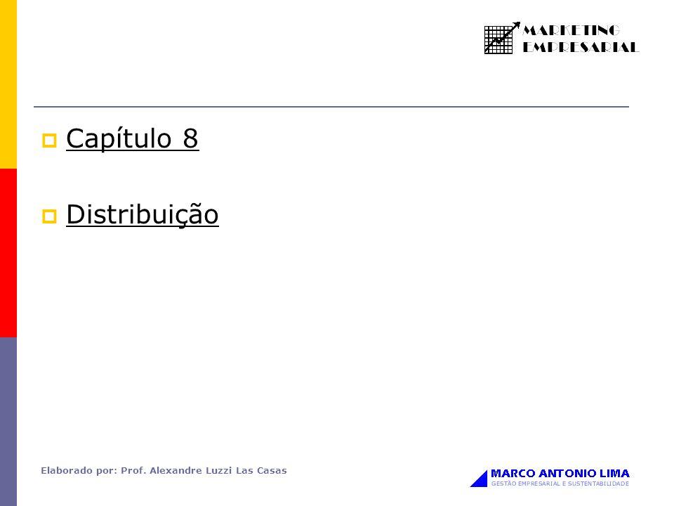 Elaborado por: Prof. Alexandre Luzzi Las Casas Capítulo 8 Distribuição