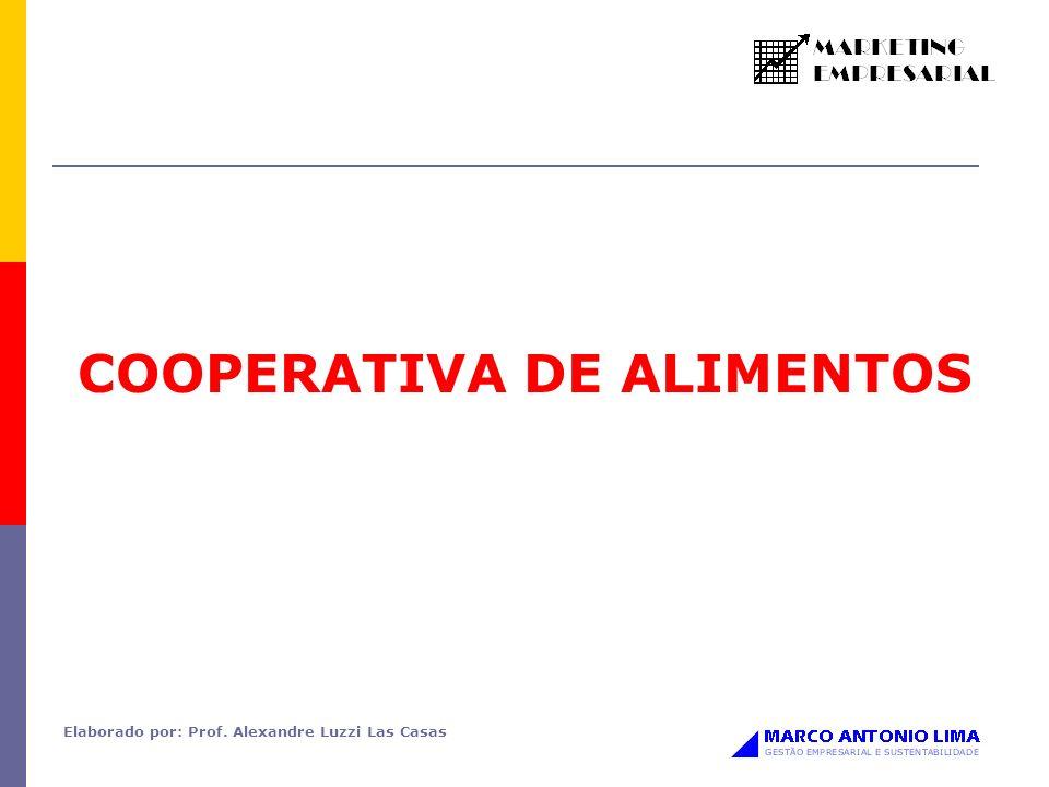 COOPERATIVA DE ALIMENTOS Elaborado por: Prof. Alexandre Luzzi Las Casas
