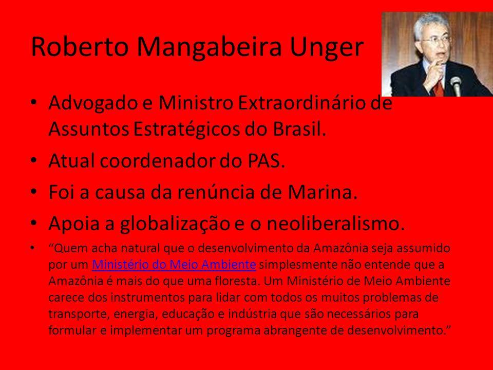 Advogado e Ministro Extraordinário de Assuntos Estratégicos do Brasil.