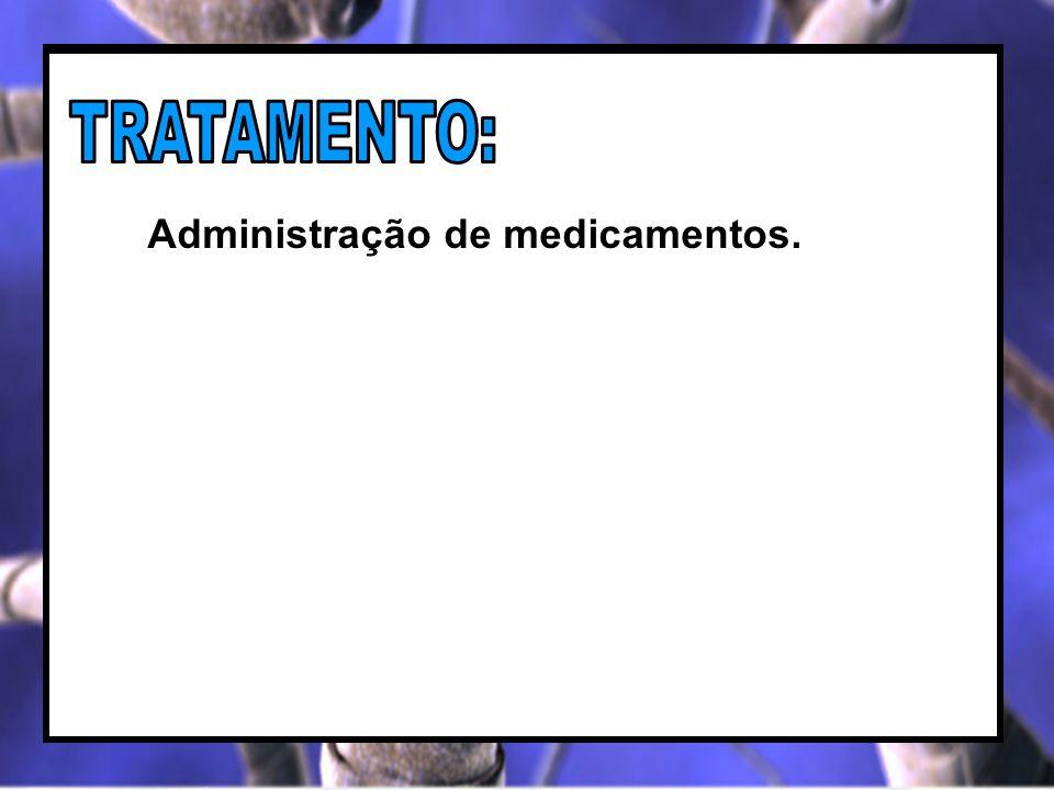 Administração de medicamentos.