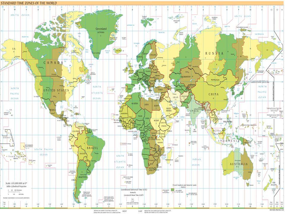 Linha Internacional de Data É uma linha imaginária que atravessa o Oceano Pacífico, estabelecendo quando começa o próximo dia.