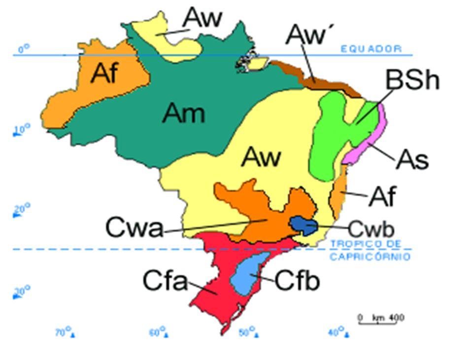 Clima subtropical Trata-se do clima predominante na região Sul do país.