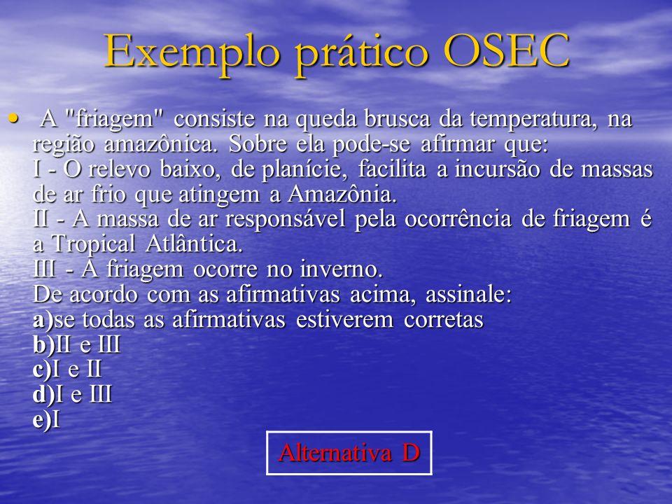 Exemplo prático OSEC A