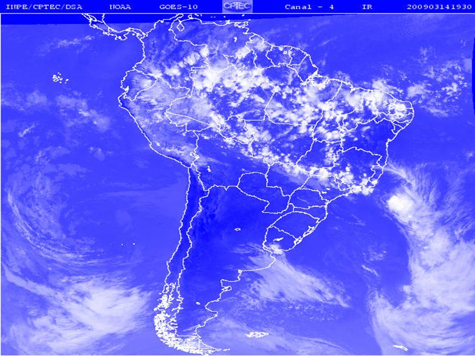Correntes marítimas Destacamos duas subcorrentes derivadas da corrente Sul- Equatorial: Guianas e Brasil.