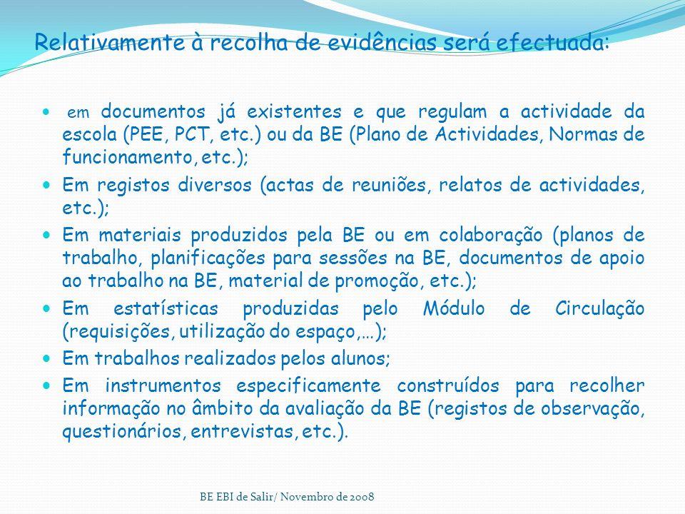 Escolha da amostra e recolha de evidências Relativamente à amostra escolhida: Alunos: Professores: 1º Ciclo2º Ciclo3º Ciclo 20 AE1º Ciclo2º Ciclo3º Ci