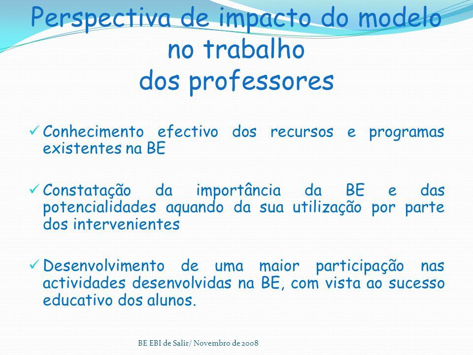 O resultado da avaliação Elaboração de um Relatório Final, onde estejam definidos os pontos fortes, as principais fraquezas e as acções para a melhori