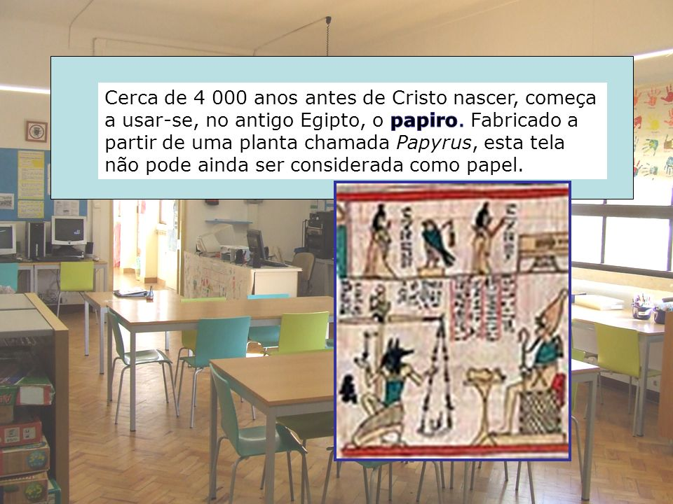 Após este tratamento, os desenhos são enviados para junto do texto e colocados no devido lugar.