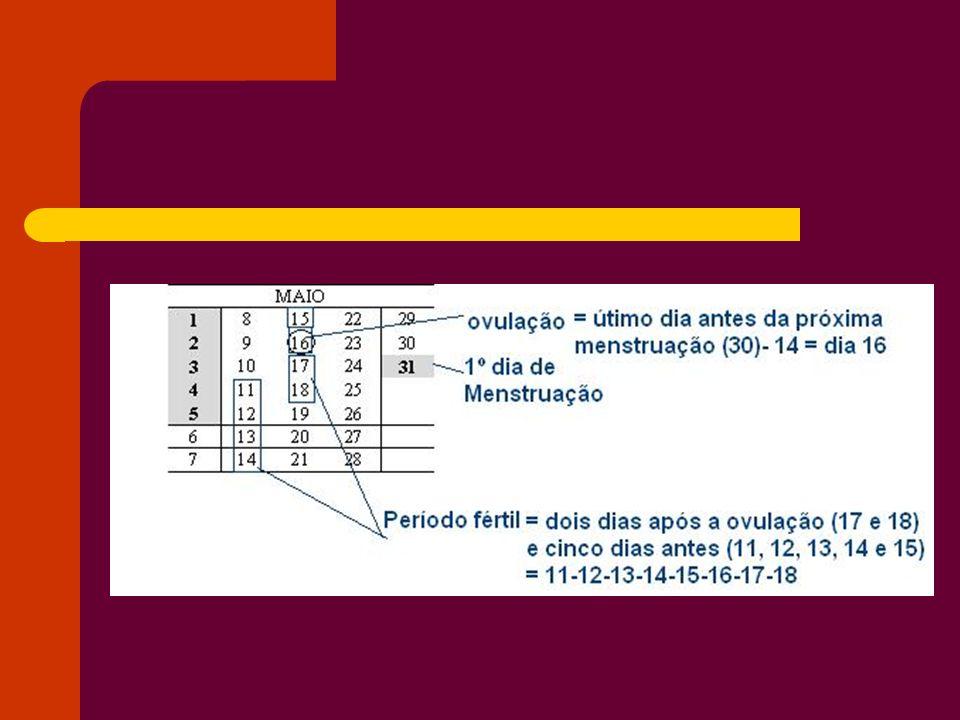 Método da temperatura Este método permite calcular o período fértil da mulher, através da avaliação da temperatura do corpo da mulher.