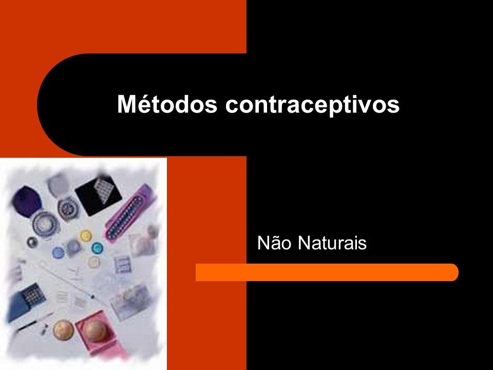 Métodos contraceptivos Não Naturais