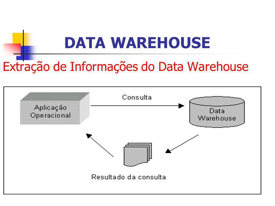 Extração de Informações do Data Warehouse DATA WAREHOUSE