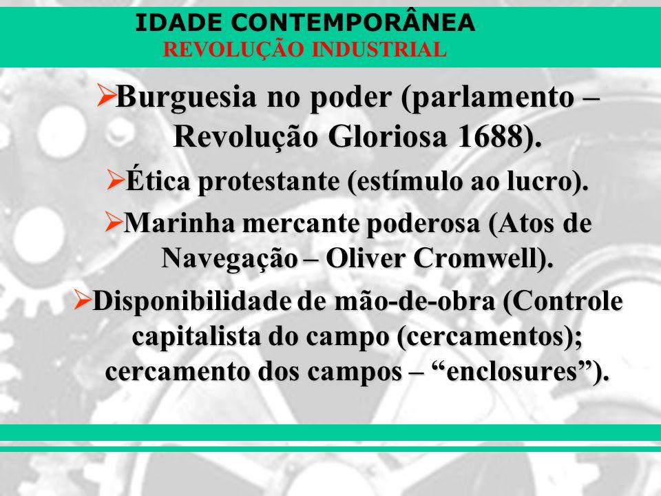 IDADE CONTEMPORÂNEA REVOLUÇÃO INDUSTRIAL