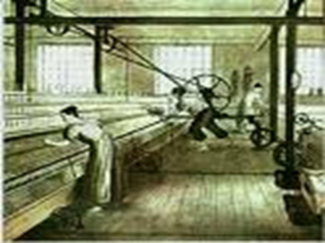 Principais características da I Revolução Industrial Utilização de técnicas simples.