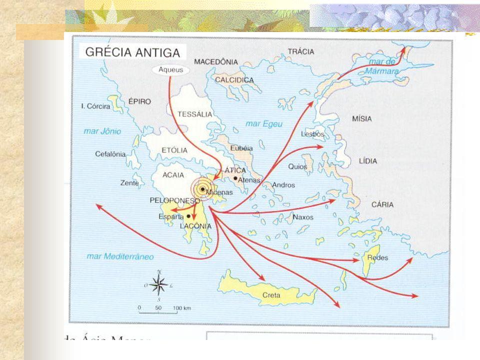Guerra do Peloponeso Atenas se tornou a cidade hegemônica na Grécia e em determinado momento passou a não permitir que as cidades saíssem da Liga de Delos.