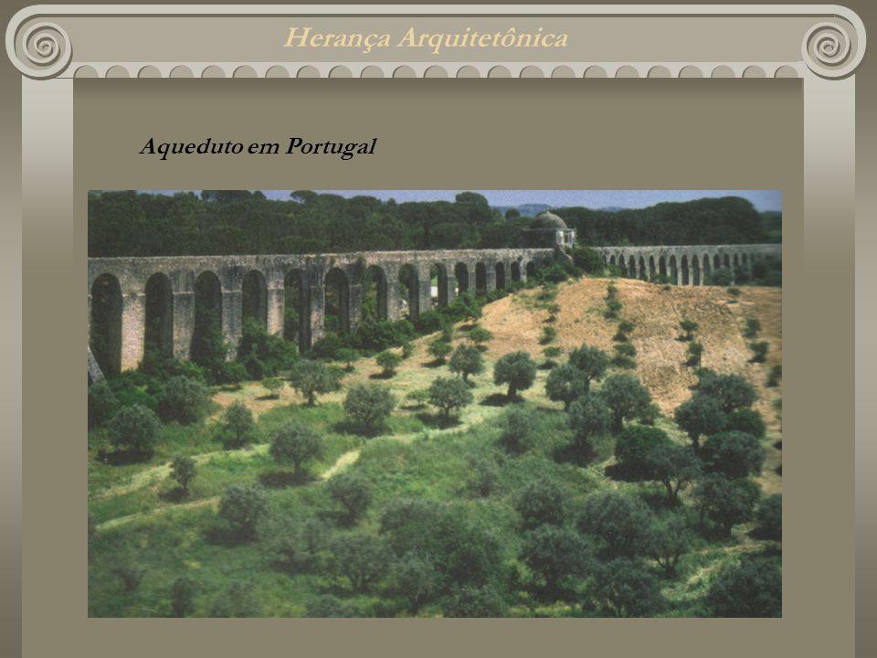 Herança Arquitetônica Aqueduto em Portugal