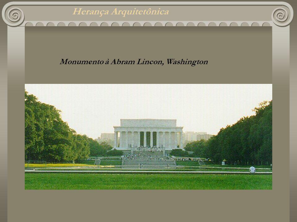 Herança Arquitetônica Monumento à Abram Lincon, Washington