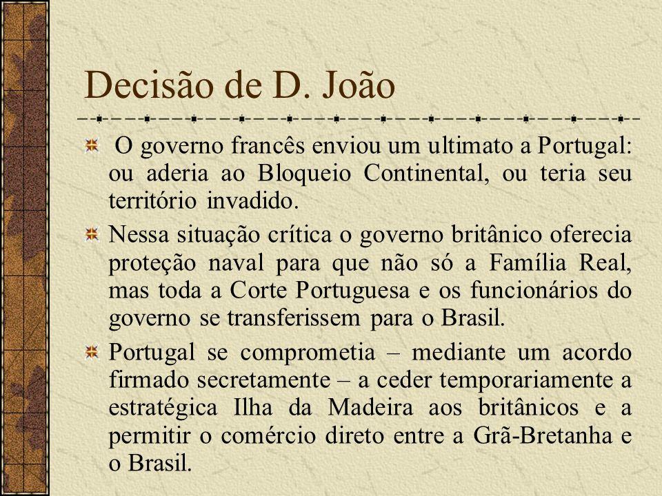 A vinda da família real para o Brasil A aproximação dos franceses desencadeou confusão e desespero.