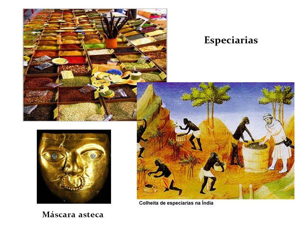 Máscara asteca Especiarias