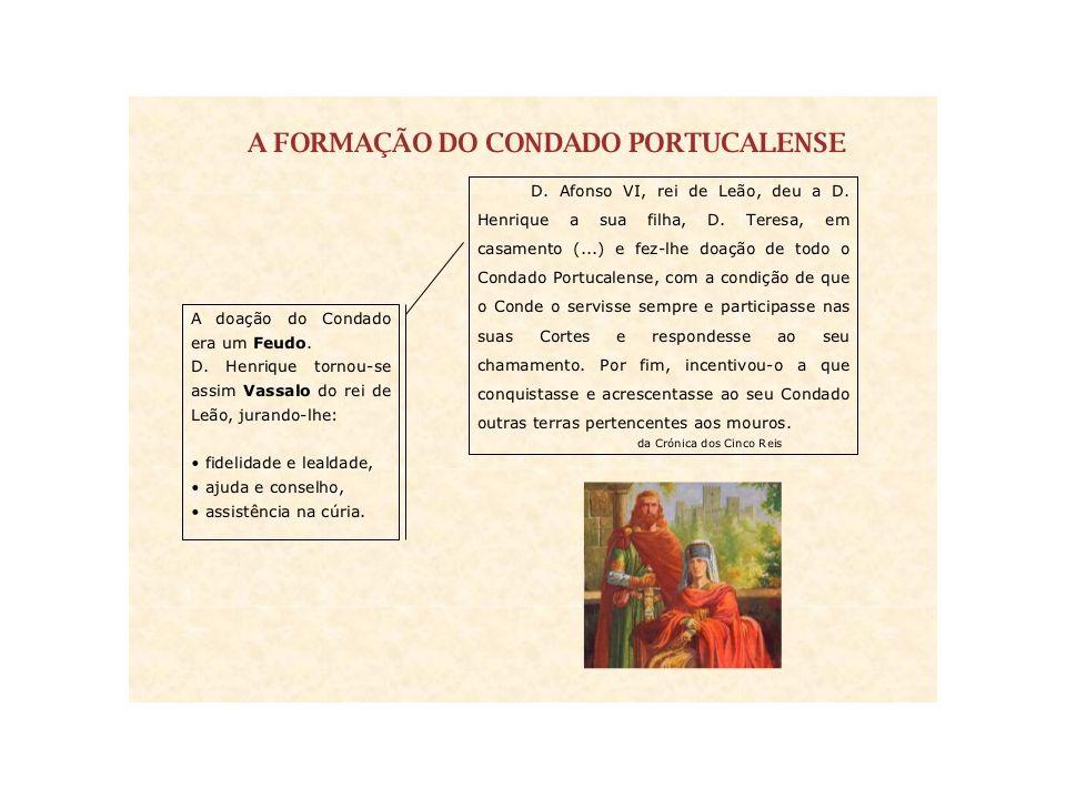 Portugal de feudo a reino Afonso Henriques traiu seu juramento de fidelidade e nomeou-se rei de suas terras.