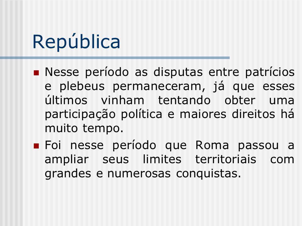 Organização política.