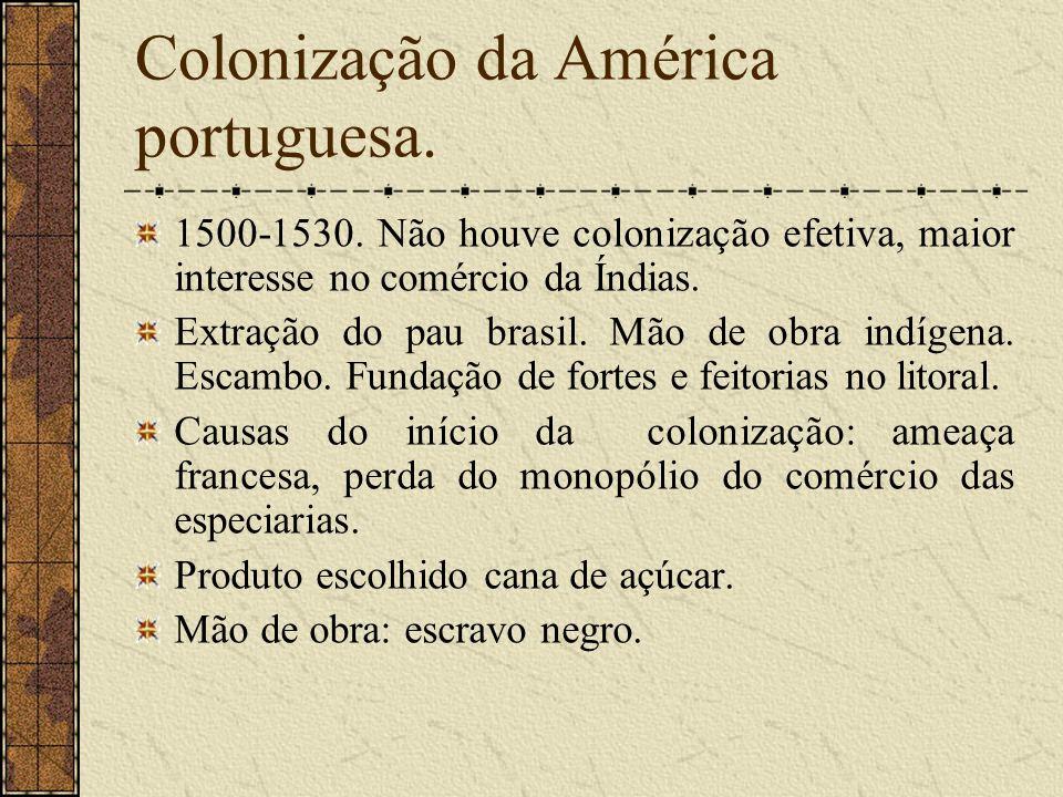 Colonização da América portuguesa.1500-1530.
